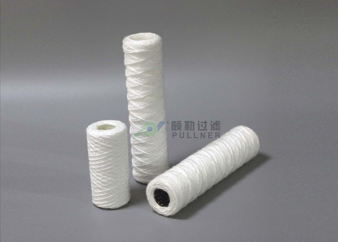 5 Micron Cotton Fiber String Wound Filter Cartridge FDA Certificate RO Pre - Filters