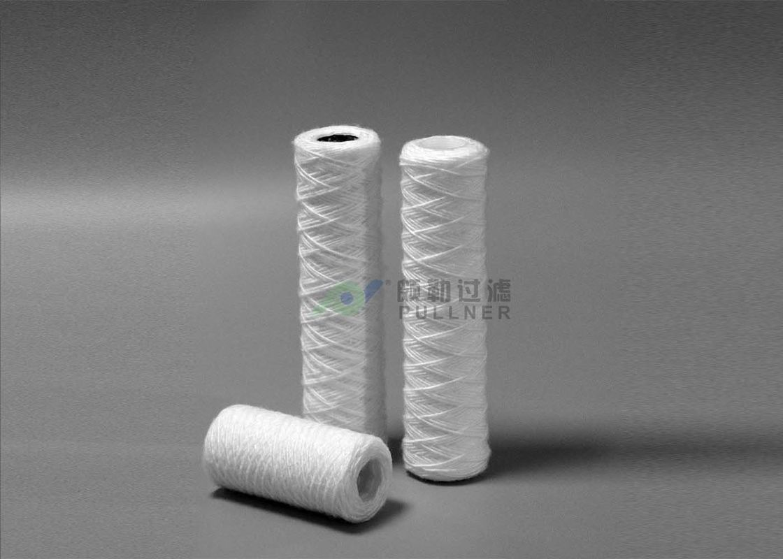 5 Micron Pp Wound Cartridge Filter Water , String Wound Water Filter Cartridges